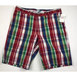 14th & UNION NEW Multi-Colored Plaid Mens